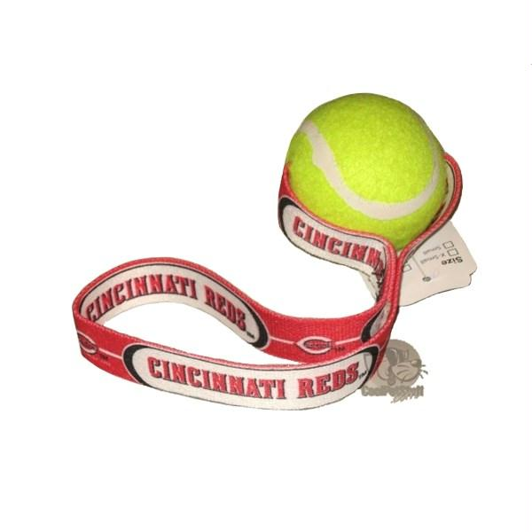 Cincinnati Reds Tennis Ball Toss Toy - staygoldendoodle.com