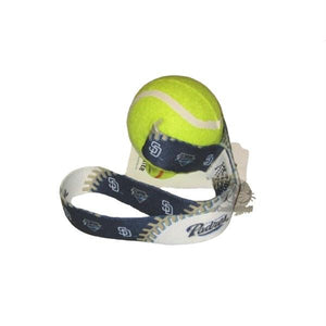 San Diego Padres Tennis Ball Toss Toy - staygoldendoodle.com