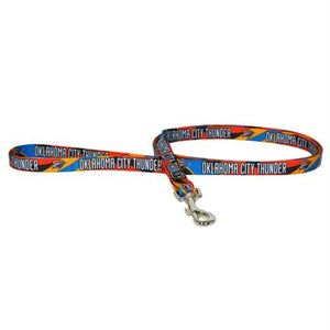 Oklahoma City Thunder Dog Leash - staygoldendoodle.com