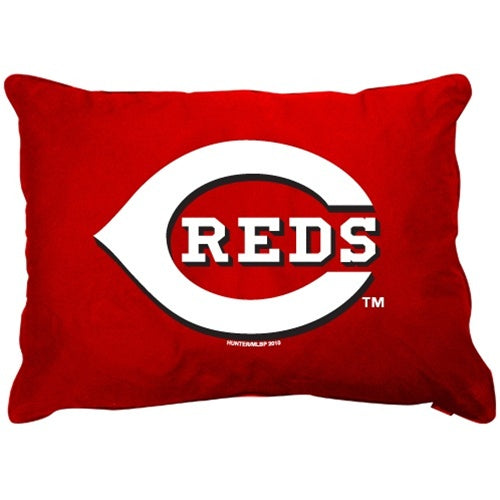 Cincinnati Reds Dog Pillow Bed - staygoldendoodle.com