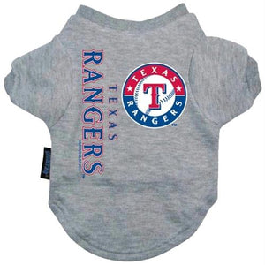 Texas Rangers Dog Tee Shirt - staygoldendoodle.com