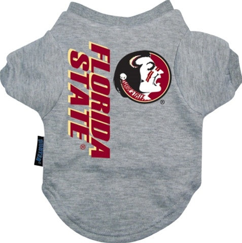 Florida State Seminoles Dog Tee Shirt - staygoldendoodle.com