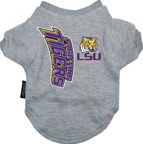 LSU Tigers Dog Tee Shirt - staygoldendoodle.com