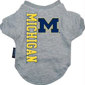 Michigan Wolverines Dog Tee Shirt - staygoldendoodle.com