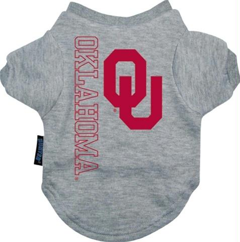 Oklahoma Sooners Dog Tee Shirt - staygoldendoodle.com