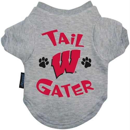 Wisconsin Badgers Tail Gater Tee Shirt - staygoldendoodle.com