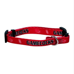 South Carolina Gamecocks Dog Collar - staygoldendoodle.com