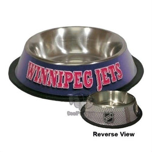 Winnipeg Jets Pet Bowl - staygoldendoodle.com