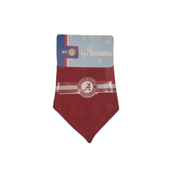 Alabama Crimson Tide Mesh Dog Bandana - staygoldendoodle.com