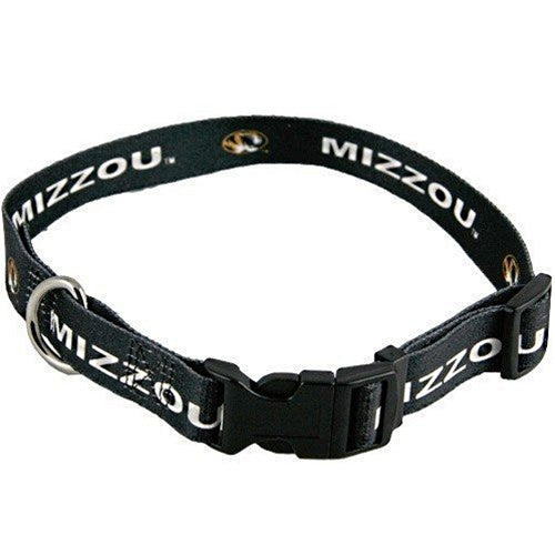 Missouri Tigers Dog Collar - staygoldendoodle.com
