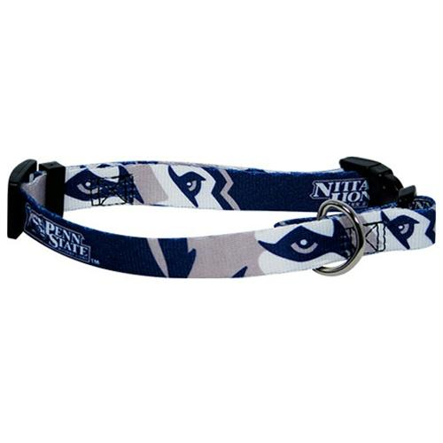 Penn State Nittany Lions Dog Collar - staygoldendoodle.com