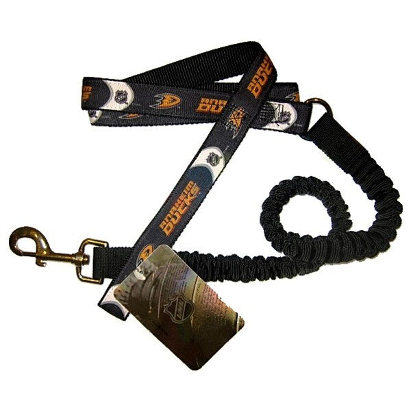Anaheim Ducks Bungee Ribbon Pet Leash - staygoldendoodle.com