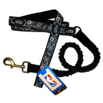 San Antonio Spurs Bungee Ribbon Pet Leash - staygoldendoodle.com