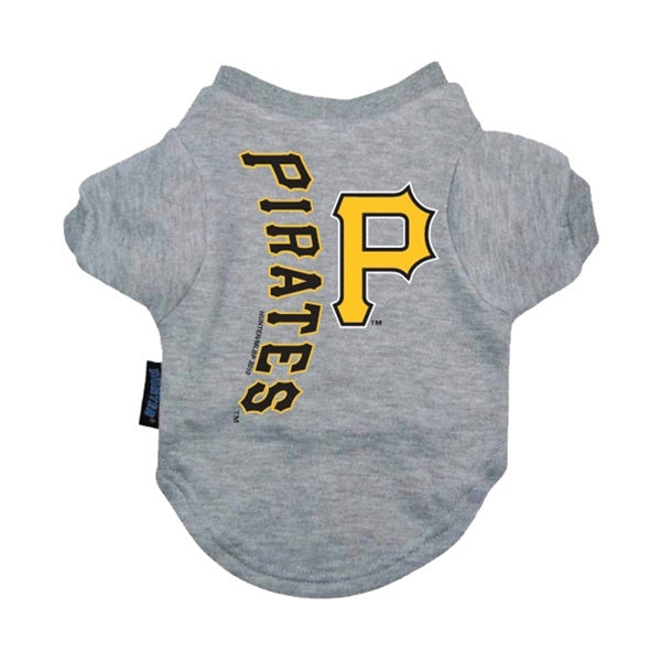 Pittsburgh Pirates Pet T-Shirt - staygoldendoodle.com