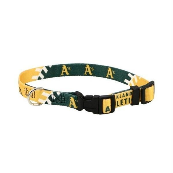 Oakland A's Pet Collar - staygoldendoodle.com