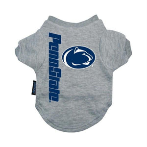 Penn State Nittany Lions Heather Grey Pet T-Shirt - staygoldendoodle.com