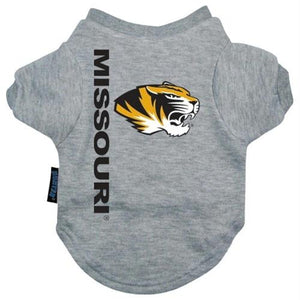 Missouri Tigers Pet Tee Shirt - staygoldendoodle.com