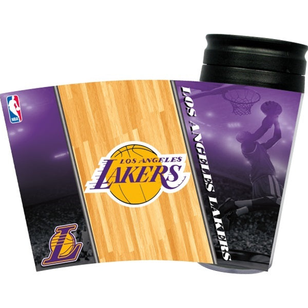 Los Angeles Lakers Acrylic Tumbler w- Lid - staygoldendoodle.com