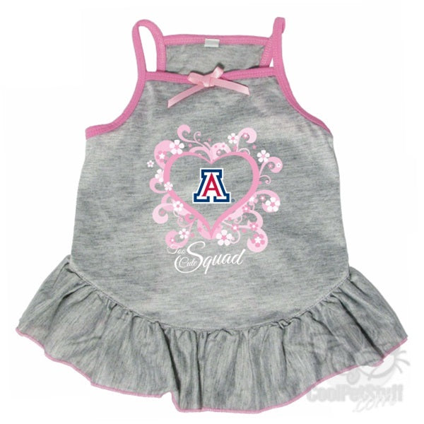 "Arizona Wildcats ""Too Cute Squad"" Pet Dress - staygoldendoodle.com"