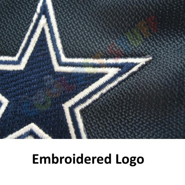 Dallas Cowboys Water Resistant Reflective Pet Jacket - staygoldendoodle.com