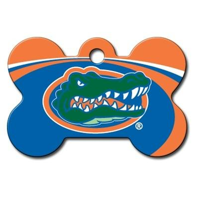 Florida Gators Bone ID Tag - staygoldendoodle.com