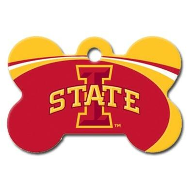 Iowa State Cyclones Bone ID Tag - staygoldendoodle.com