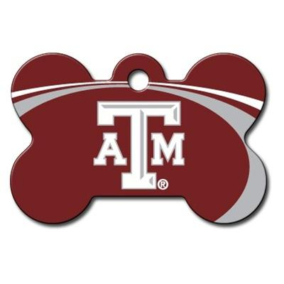 Texas A&M Aggies Bone ID Tag - staygoldendoodle.com