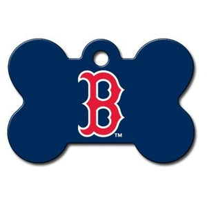 Boston Red Sox Bone ID Tag - staygoldendoodle.com