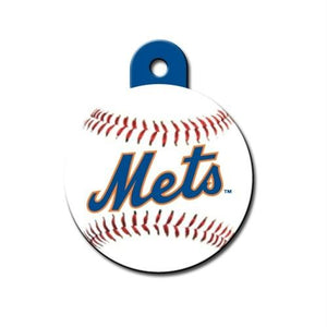 New York Mets Circle ID Tag - staygoldendoodle.com