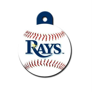 Tampa Bay Rays Circle ID Tag - staygoldendoodle.com