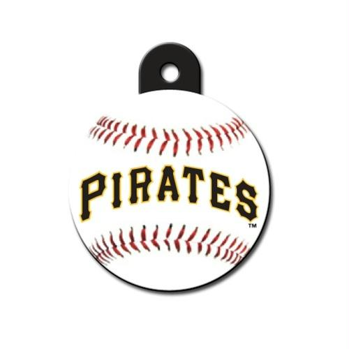 Pittsburgh Pirates Circle ID Tag - staygoldendoodle.com