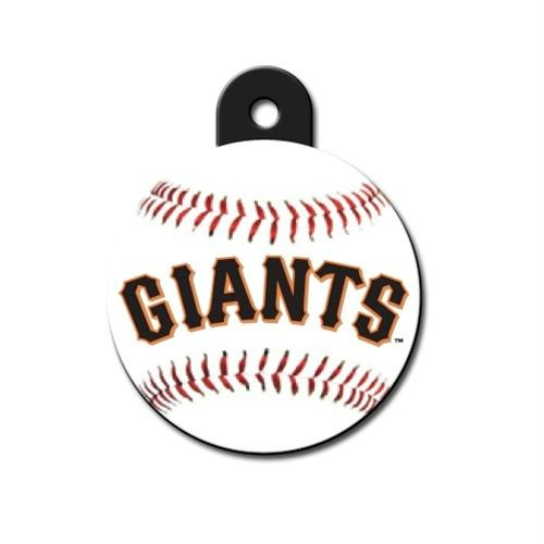 San Francisco Giants Circle ID Tag - staygoldendoodle.com