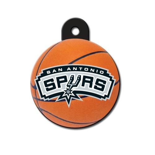 San Antonio Spurs Circle ID Tag - staygoldendoodle.com