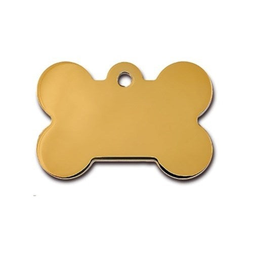 Large Polished Bone ID Tag - staygoldendoodle.com
