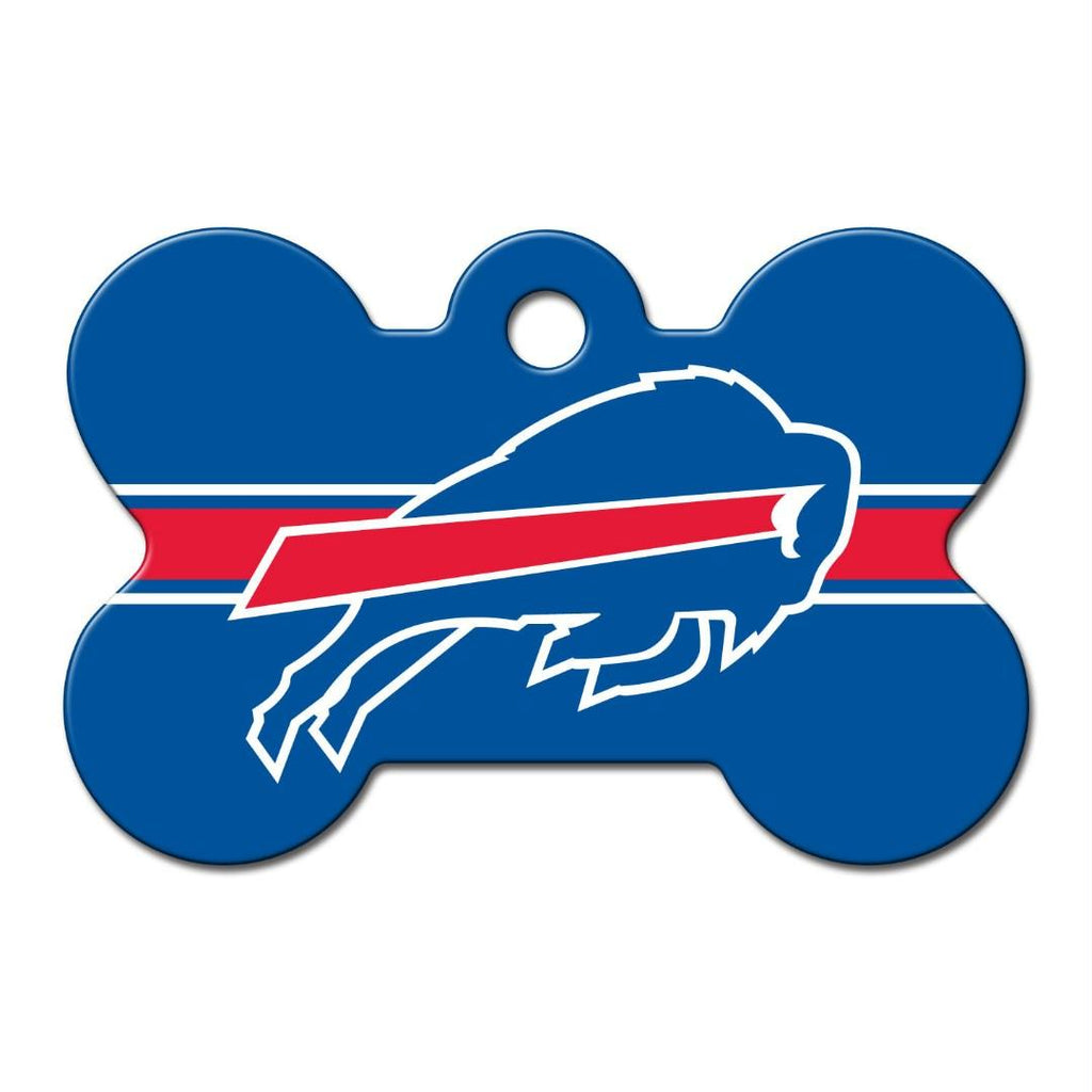 Buffalo Bills Bone ID Tag - staygoldendoodle.com
