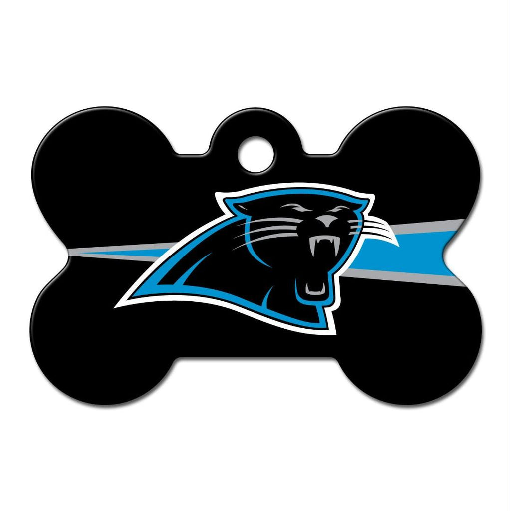 Carolina Panthers Bone ID Tag - staygoldendoodle.com