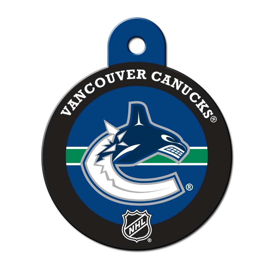 Vancouver Canucks Circle ID Tag - staygoldendoodle.com