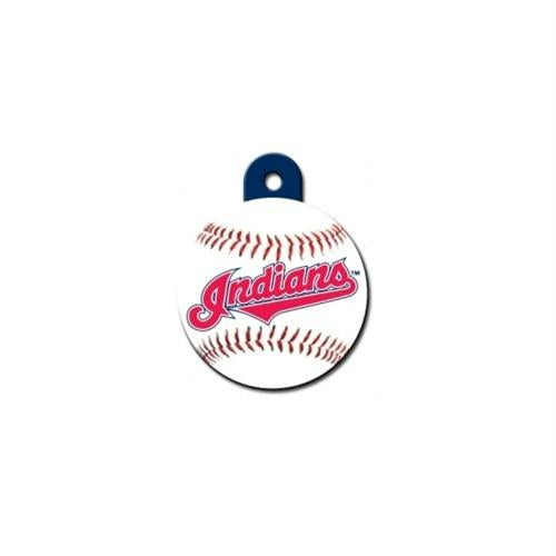 Cleveland Indians Circle ID Tag - staygoldendoodle.com