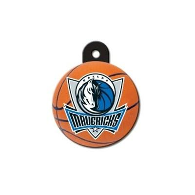 Dallas Mavericks Circle ID Tag - staygoldendoodle.com