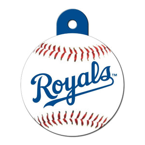 Kansas City Royals Circle ID Tag - staygoldendoodle.com