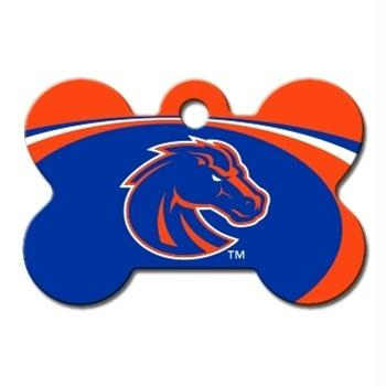 Boise State Bone ID Tag - staygoldendoodle.com