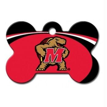 Maryland Terrapins Bone ID Tag - staygoldendoodle.com