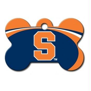 Syracuse Orange Bone ID Tag - staygoldendoodle.com