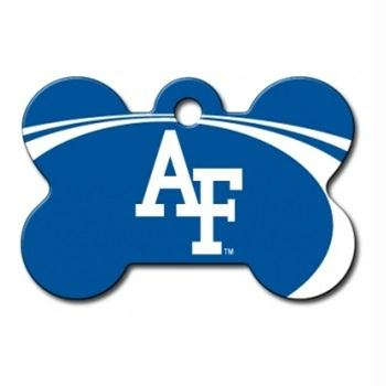 Air Force Falcons Bone ID Tag - staygoldendoodle.com