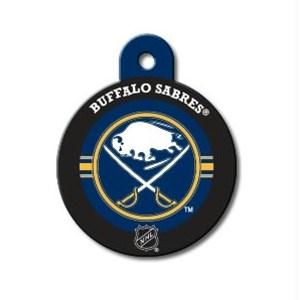Buffalo Sabres Large Circle ID Tag - staygoldendoodle.com