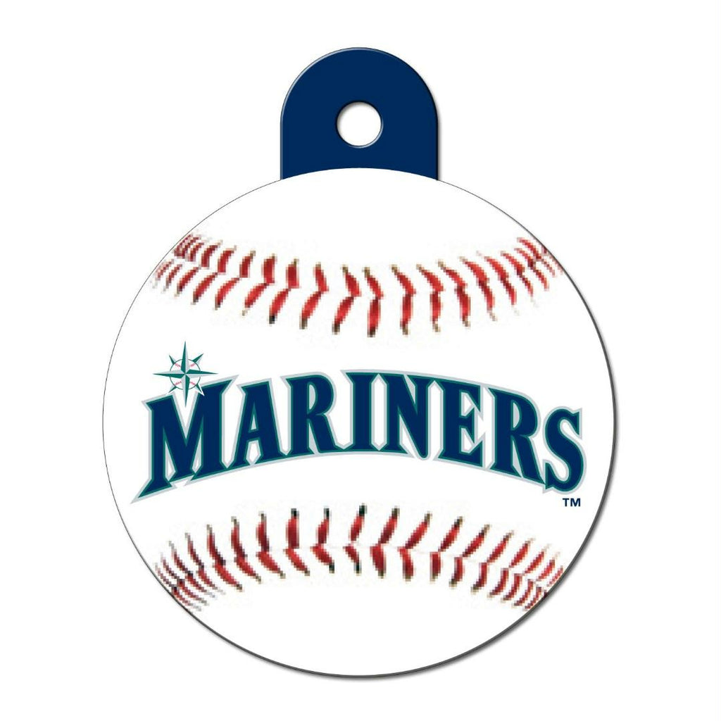 Seattle Mariners Large Circle ID Tag - staygoldendoodle.com