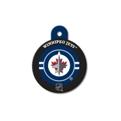 Winnipeg Jets Large Circle ID Tag - staygoldendoodle.com