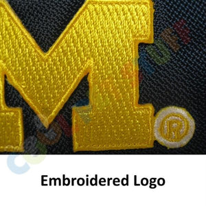Michigan Wolverines Water Resistant Reflective Pet Jacket - staygoldendoodle.com