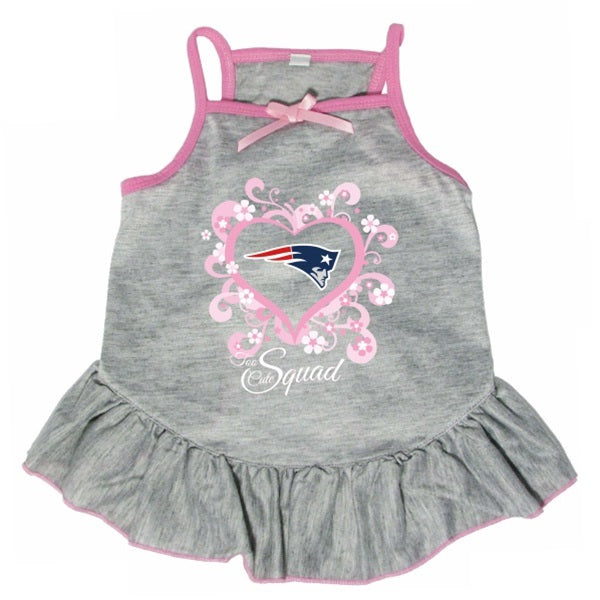 "New England Patriots ""Too Cute Squad"" Pet Dress - staygoldendoodle.com"