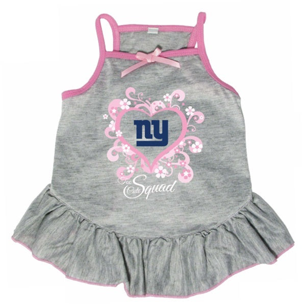"New York Giants ""Too Cute Squad"" Pet Dress - staygoldendoodle.com"